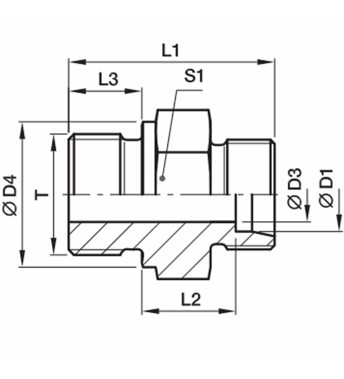 Parker Einschraubverschraubung GE15LRMS (10Stk.) SIE
