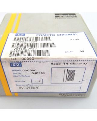 Parker Verschluss-Stopfen VSTI2EDA3C (2Stk.) SIE