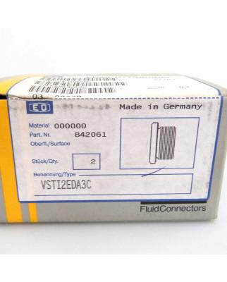 Parker Verschluss-Stopfen VSTI2EDA3C (2Stk.) OVP
