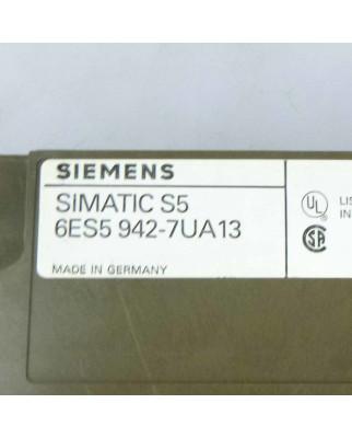 Simatic S5 CPU942 6ES5 942-7UA13 GEB