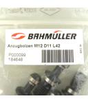 Bahmüller Anzugsbolzen M12 11x42mm (10Stk) OVP