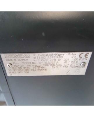 Siemens AC-VSA-Motor 1FT5102-1AC71-1AB0 NOV