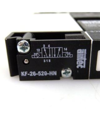 airtec 5/2-Wegeventil KF-26-520-HN NOV
