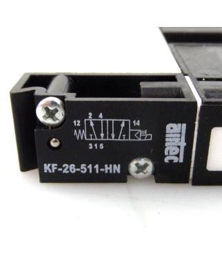 airtec 5/2-Wegeventil KF-26-511-HN NOV