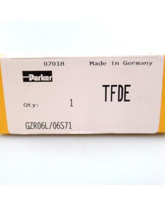 Parker Gerade Reduzierung GZR06L/06S71 SIE