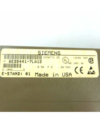 Simatic S5 DO441 6ES5 441-7LA12 GEB