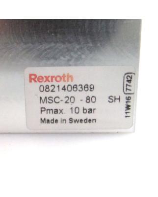 Rexroth Minischlitten MSC-25-50-SH 0821406369 GEB