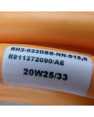 Bosch Rexroth Hybridkabel RH2-022DBB-NN-015,0 R911372090 NOV