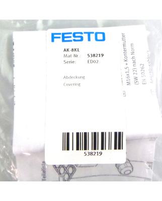 Festo Abdeckung AK-8KL 538219 (3Stk.) OVP