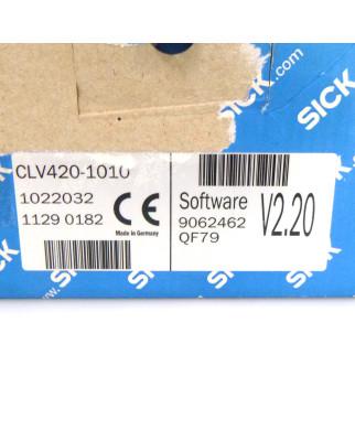 SICK Barcodescanner CLV420-1010 1022032 OVP