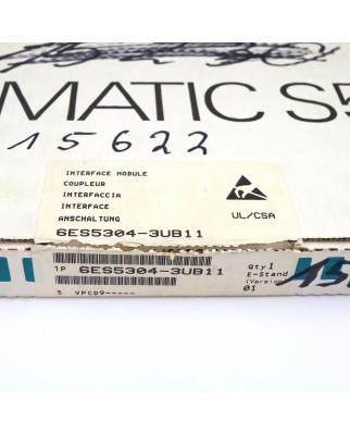 Simatic S5 IM304 6ES5 304-3UB11 OVP