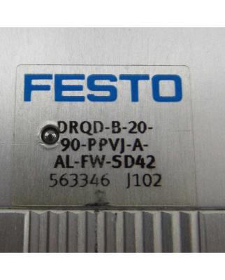 Festo Schwenkantrieb DRQD-B-20-90-PPVJ-A-AL-FW-SD42...