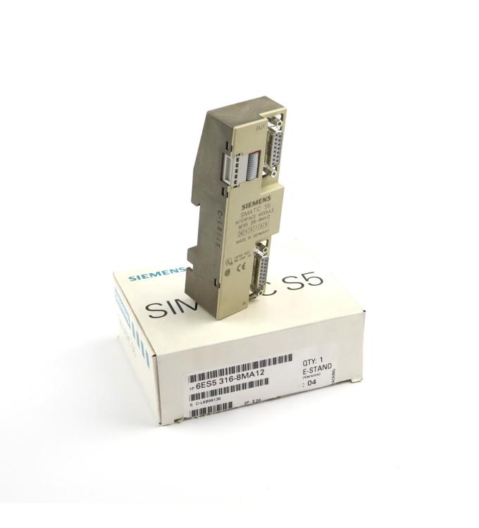 Simatic S5 IM316 6ES5 316-8MA12 OVP