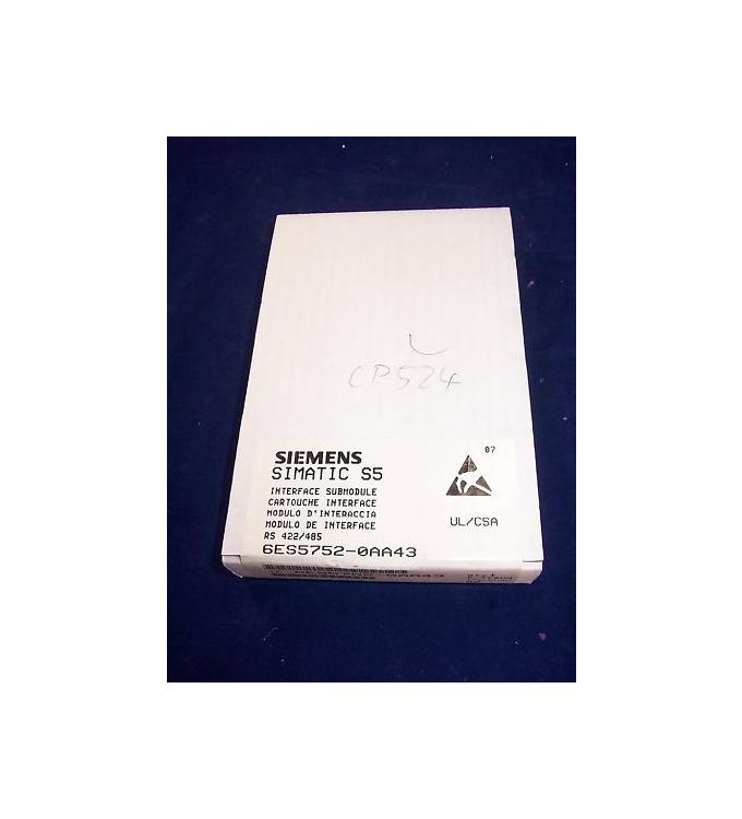 Simatic S5 Modul für CP524 6ES5 752-0AA43 SIE