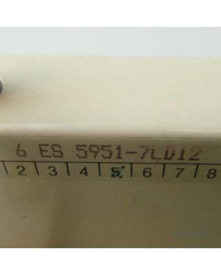Simatic S5 PS951 6ES5 951-7LD12 GEB