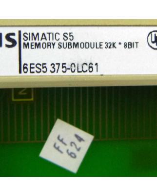 SIMATIC S5 SPEICHER 375 6ES5 375-0LC61 32 KB GEB
