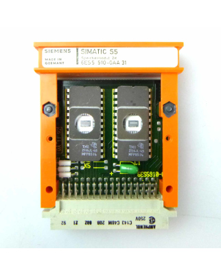 SIMATIC S5 SPEICHER 910 6ES5 910-0AA31 OVP