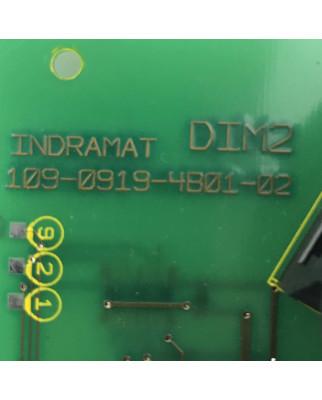 INDRAMAT Baugruppe DIM2 109-0919-4B01-02 109-0919-4A01-02 GEB