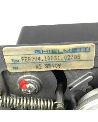 Ghielmetti Lochstreifenleser FER204.10031.02/05 GEB