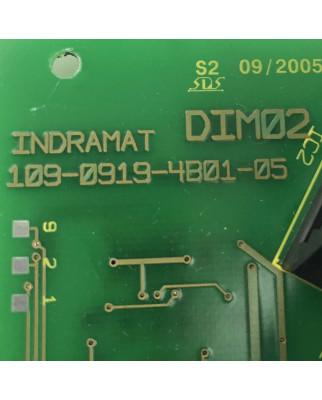 INDRAMAT Baugruppe DIM02 109-0919-4B01-05...