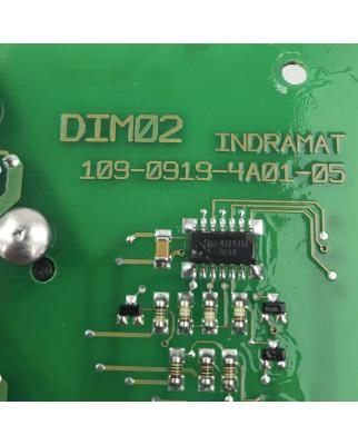 INDRAMAT Baugruppe DIM02 109-0919-4B01-05 109-0919-4A01-05 GEB