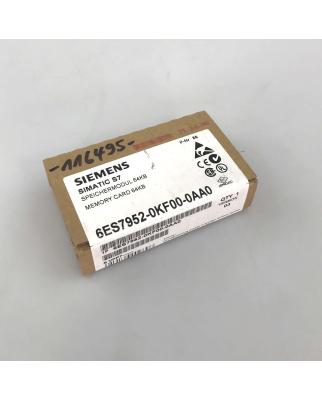 Simatic S7 MC952 6ES7 952-0KF00-0AA0 64 kB SIE