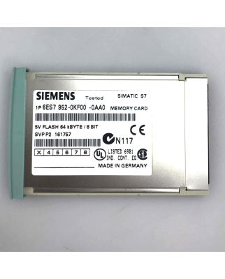 Simatic S7 MC952 6ES7 952-0KF00-0AA0 64 kB OVP