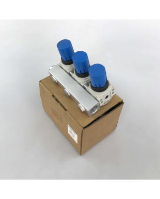 Festo Druckregelventil-Batterie LRB-1/4-DB-7-O-K3-MINI...