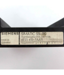 Simatic S5-110 Digitalausgabe 6ES5 410-7AA11 GEB