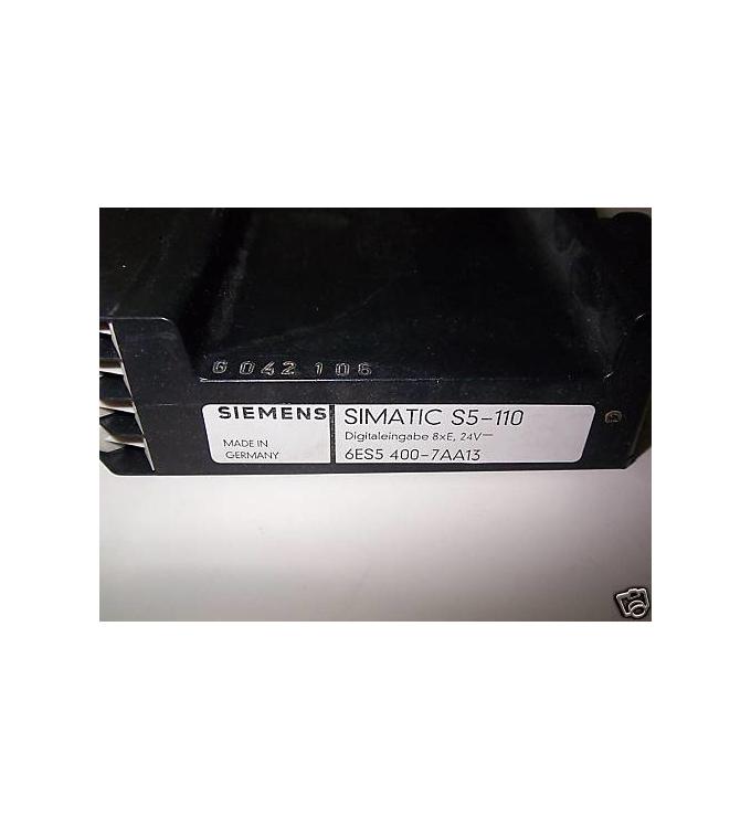 Simatic S5-110 Digitaleingabe 6ES5 400-7AA13 GEB