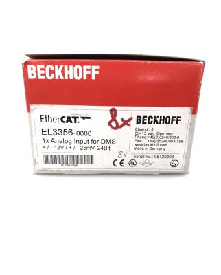 Beckhoff 1-Kanal-Analog-Eingangsklemme EL3356 (4Stk.) OVP