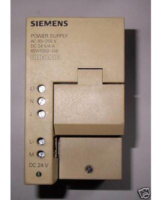 Simatic SIPAC S5 PS380 6EW1380-1AB GEB