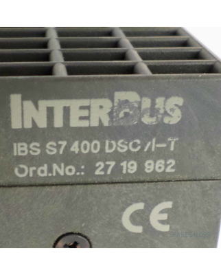 Phoenix Contact Interbus Anschaltung S7 400 DSC /I-T 2719962 GEB