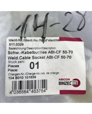 Abicor Binzel Schweißkabelbuchse ABI-CF 50-70...