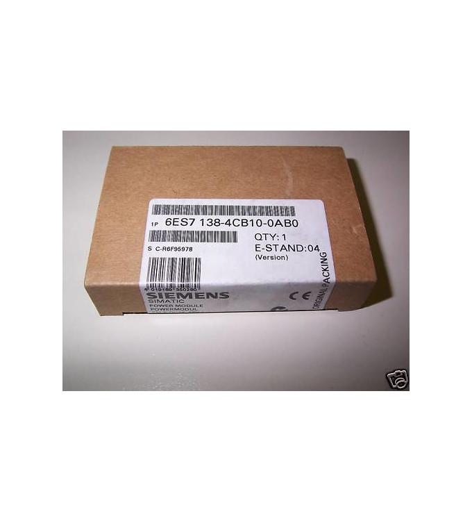 Simatic S7 ET200S 6ES7 138-4CB10-0AB0 OVP