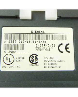 Simatic S7-200 CPU212 6ES7 212-1BA01-0XB0 E:01 OVP