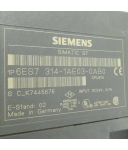 Simatic S7 CPU314 6ES7 314-1AE03-0AB0 GEB