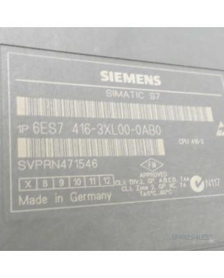 Simatic S7 CPU416-3 6ES7 416-3XL00-0AB0 REM