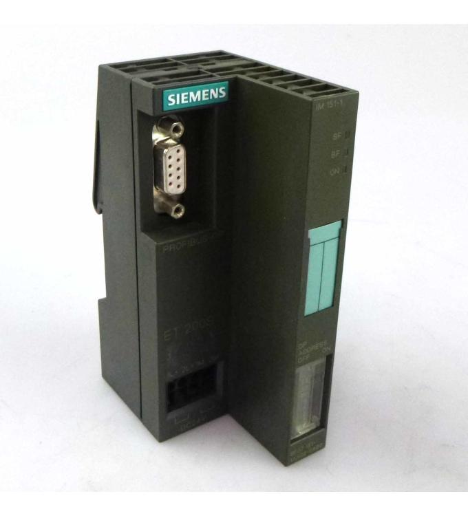 Simatic S7 ET200S IM151-1 6ES7 151-1AA02-0AB0 GEB