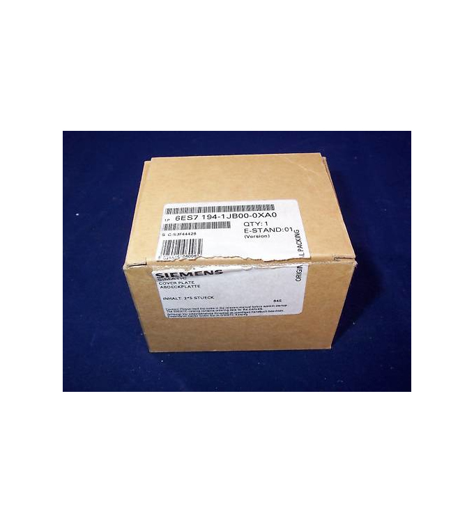 Simatic S7 ET200X 6ES7 194-1JB00-0XA0 (10Stk.) OVP