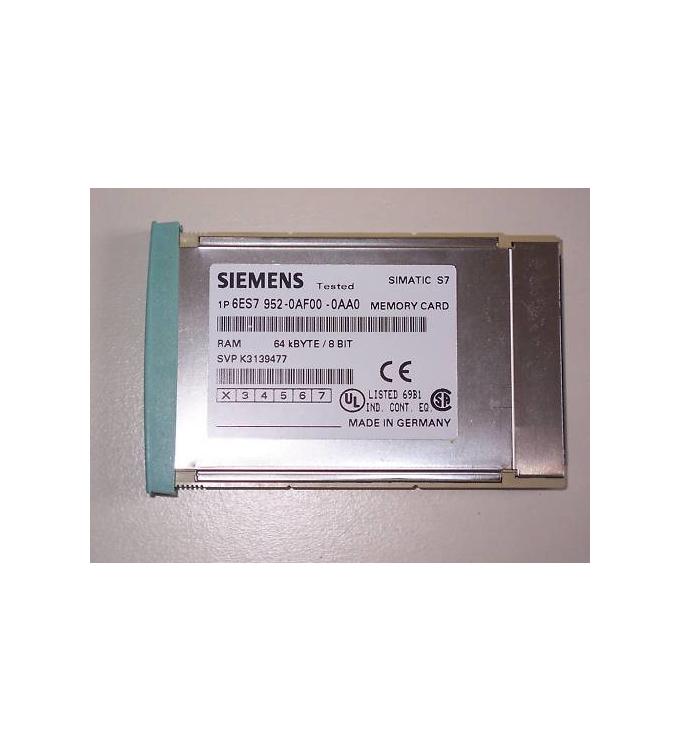 Simatic S7 MC952 6ES7 952-0AF00-0AA0 64 kB GEB