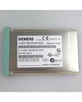 Simatic S7 MC952 6ES7 952-0KH00-0AA0 256 kB E-Stand:4 OVP