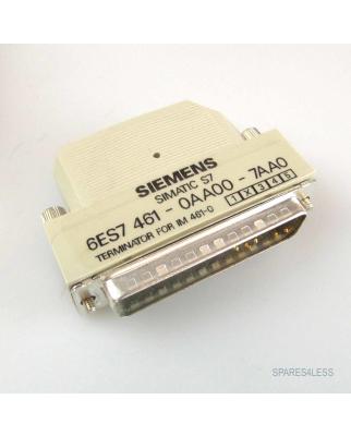 Simatic S7 Terminator 6ES7 461-0AA00-7AA0 OVP