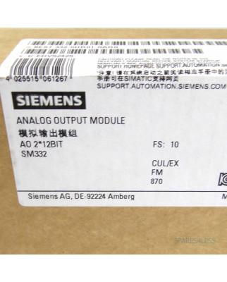 Simatic S7-300 SM332 6ES7 332-5HB01-0AB0 E10 SIE