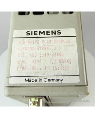 Siemens Simodrive 611 Vorschubmodul 6SC6110-3AA00 GEB