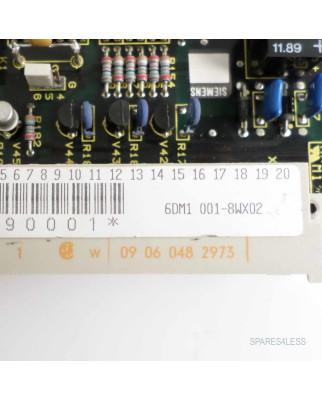Siemens Sinumerik Simoreg 6DM1001-8WX02 GEB