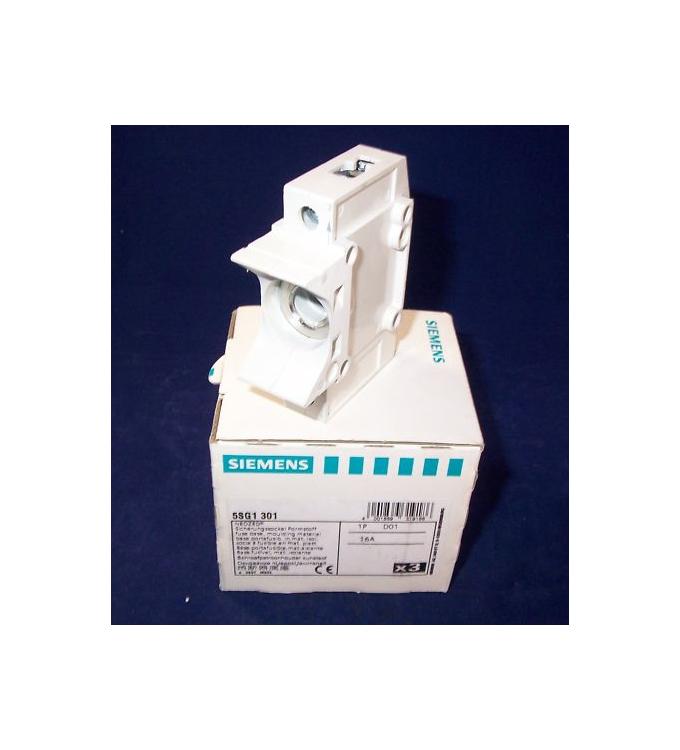 Siemens NEOZED Sicherungssockel Formstoff 5SG1301 (3Stk.) OVP