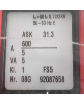 WEIGEL Stromwandler ASK 31.3 OVP