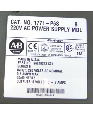 Allen Bradley 220V AC Power Supply 1771-P6S 96219272 GEB
