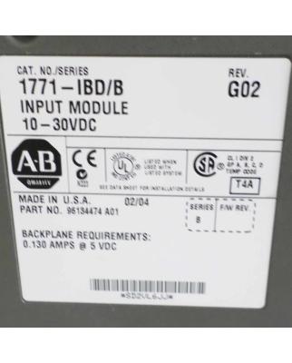 Allen Bradley Input Modul 10-30VDC 1771-IBD/B GEB